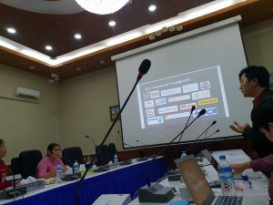 Presentation and Meeting with Myanmar Government for egov solutions
